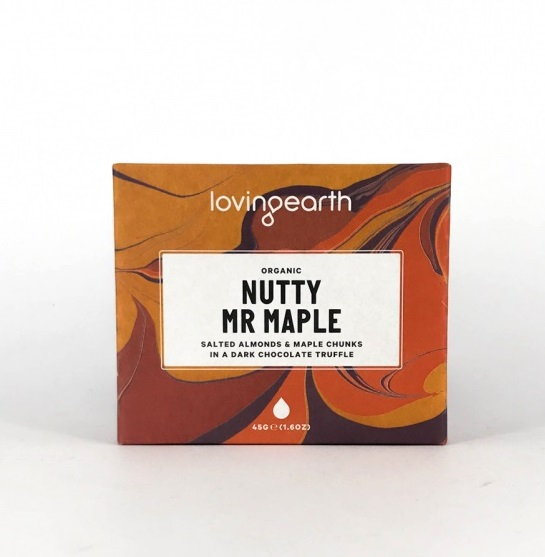 Loving Earth Nutty Mr Maple Chokladbar