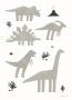 Walnut & Walrus poster - Dinos
