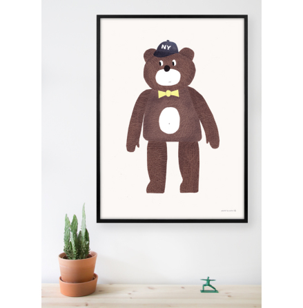 Walnut & Walrus poster - The Bear