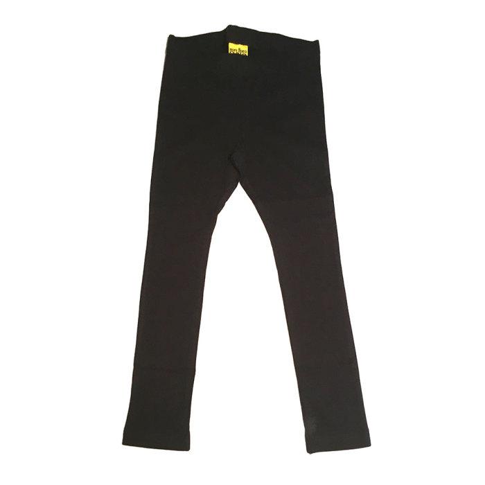 More than a fling (Duns) solid black leggings