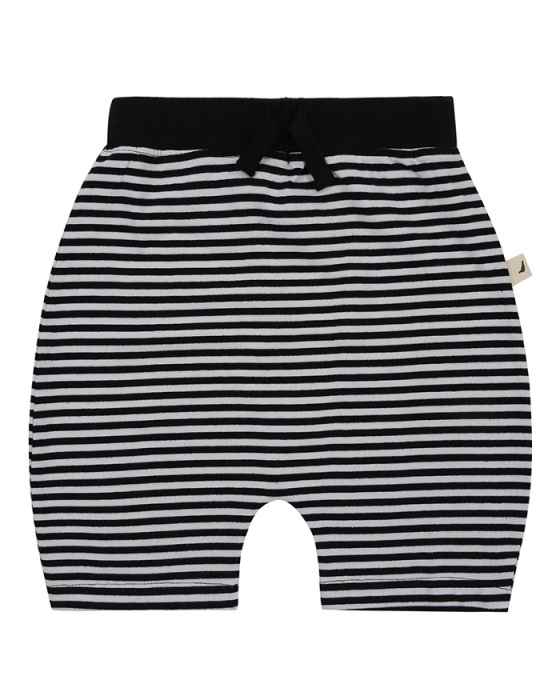 Turtledove London Shorts - Svartvitrandiga