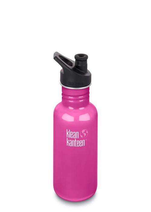 Klean Kanteen classic med sportkork 532 ml, Wild Orchid