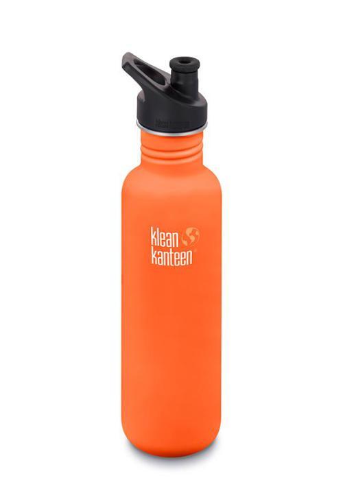Klean Kanteen classic med sportkork 800 ml, Sierra Sunset