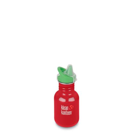 Klean Kanteen Kid classic med sippykork 355 ml, Mineral Red