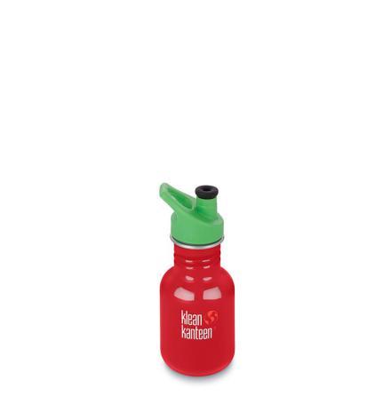 Klean Kanteen Kid classic med sportkork 355 ml, Mineral Red