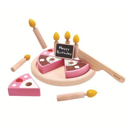 PlanToys Leksaksmat, Födelsedagstårta