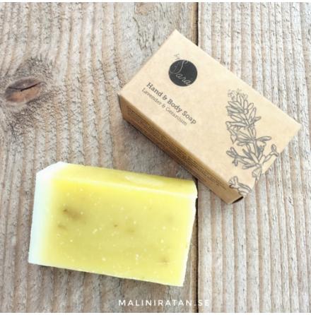 Organics by Sara, ekotvål - lavender & granium