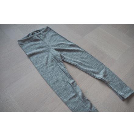 Engel leggings i ull/silke, grå