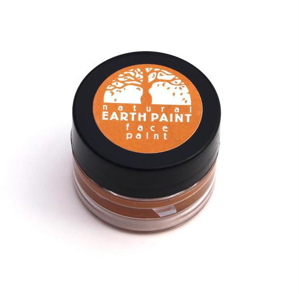 Natural Earth Paint, ekologisk ansiktsfärg orange