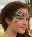 Natural Earth Paint, penslar till ansiktsfärg, 5-pack