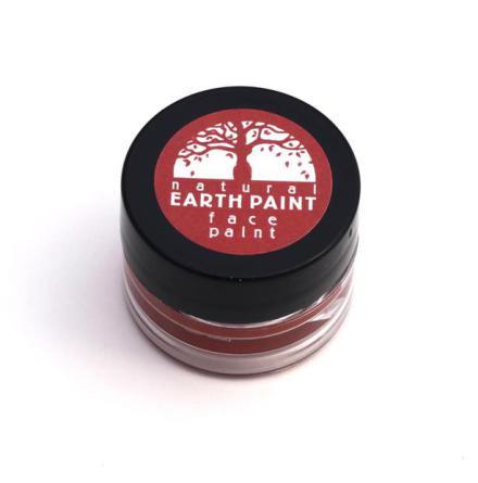 Natural Earth Paint, ekologisk ansiktsfärg röd