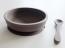 MYPY tallrik och sked i silikon - grå