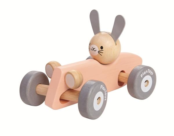 PlanToys bunny racing car