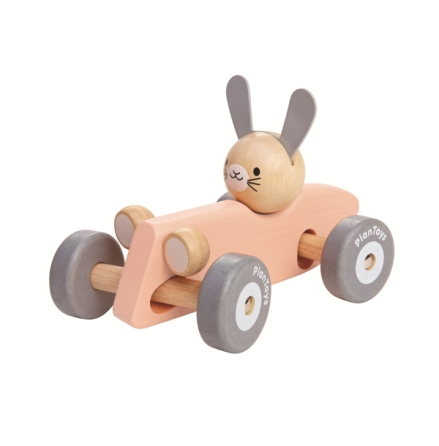 PlanToys bunny racing car