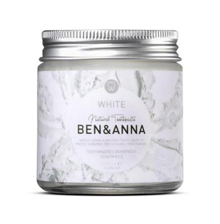 Ben & Anna naturlig tandkräm White 100 ml