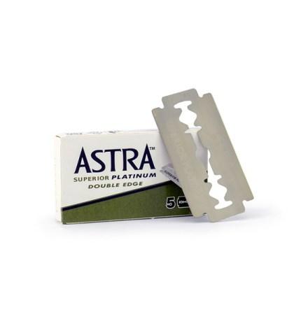 Rakblad rostfritt stål 5-pack