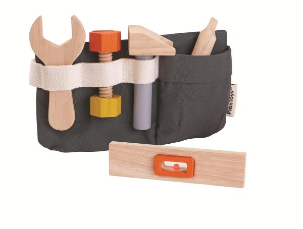 PlanToys Tool Belt Verktygsbälte med väska