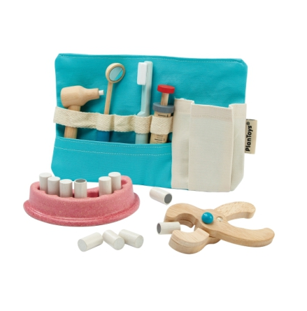 PlanToys Dentist set Tandläkarset
