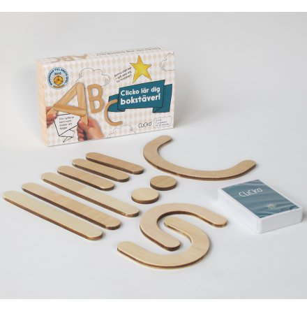 Clicko Lär dig bokstäver - 11 delar