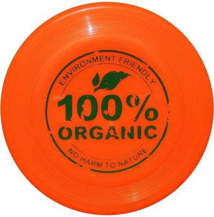 Frisbee av bioplast - orange
