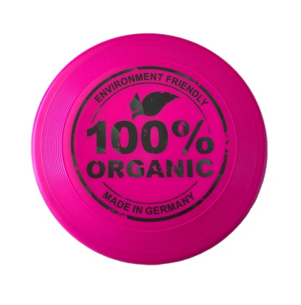 Frisbee av bioplast - rosa