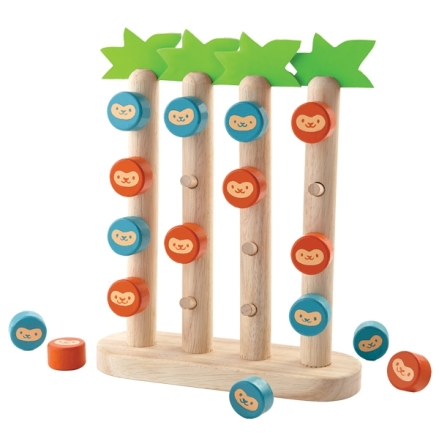 PlanToys Monkeys in a row Spel