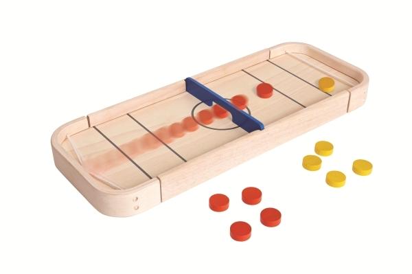 PlanToys 2 - i -1 Shuffleboard Spel