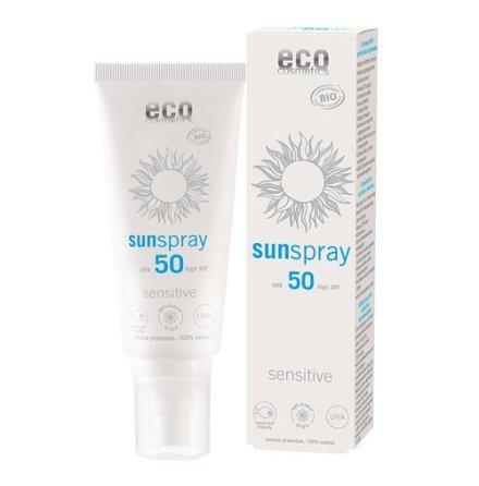 Eco Cosmetics Solspray Sensitive SPF 50+ 100ml