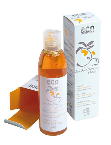 Eco Cosmetics Duschgel sensitiv havtorn 200 ml