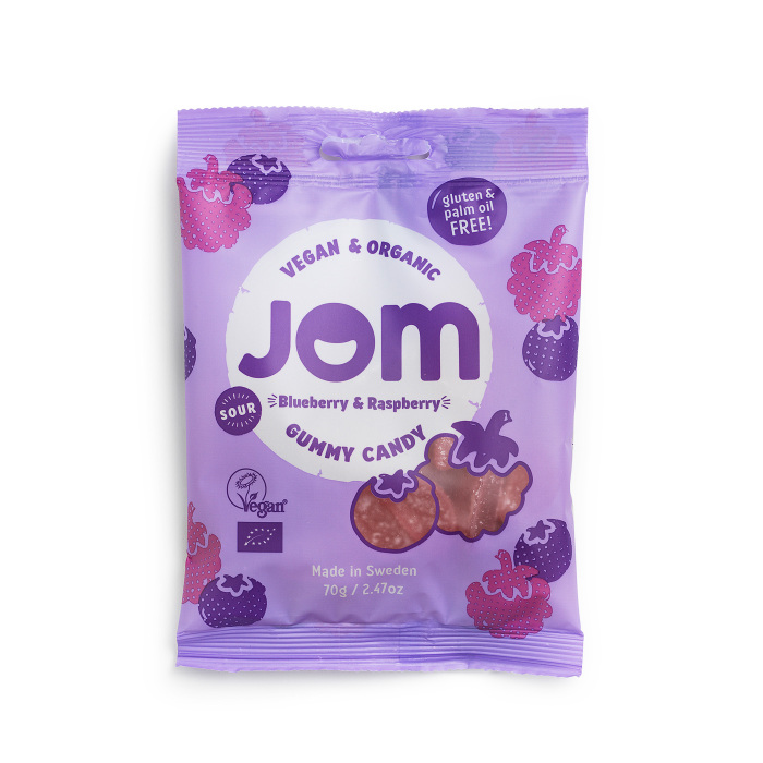 JOM Sour Blueberry & Raspberry 70g