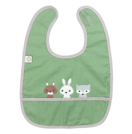 Franck & Fisher Eat green friends bib haklapp