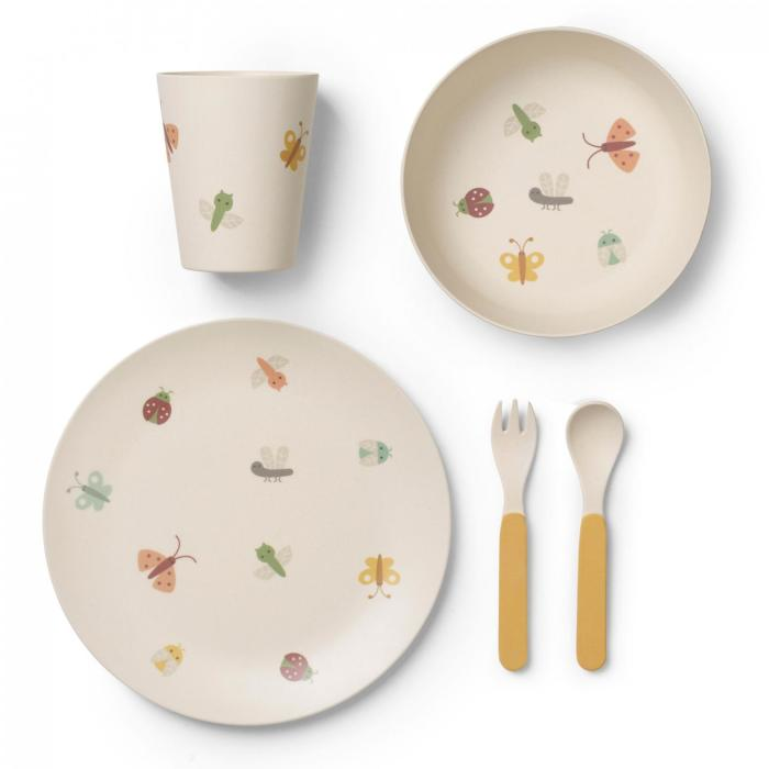 Franck & Fisher Butterfly bamboo dinner set