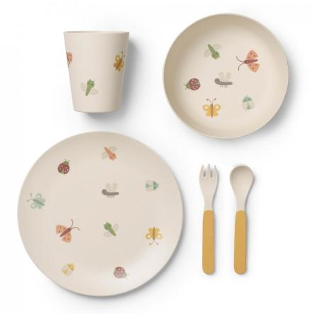Franck & Fisher Butterfly bamboo dinner set