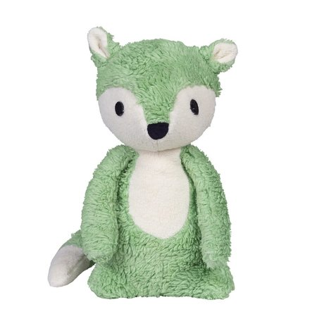 Franck & Fisher Mikkel green fox cuddle toy