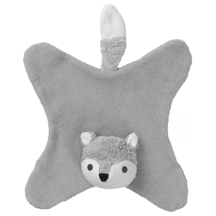 Franck & Fisher Anika grey fox cuddle cloth
