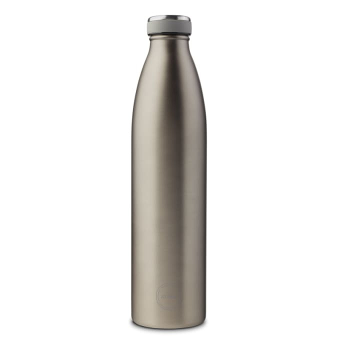 AYAIDA insulated drinking bottle Cool Grey, 1000 ml