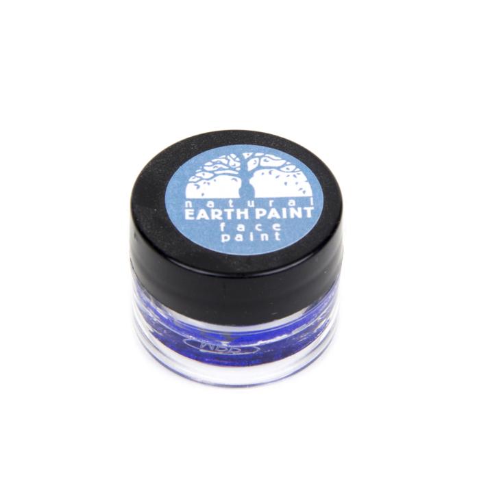 Natural Earth Paint, ekologisk ansiktsfärg blå