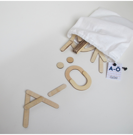 Clicko A-Ö - 79 delar