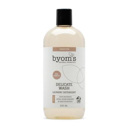 BYOMS 204 - DELICATE WASH - PROBIOTIC LAUNDRY DETERGENT - FIG MILK SCENT