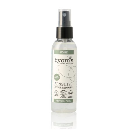 BYOMS 3005 - HOME - PROBIOTIC ODOUR REMOVER - NEUTRAL - ECOCERT -75ml