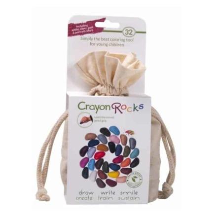 Crayon rocks, giftfria kritor, 32-pack