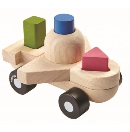 PlanToys Sorting Puzzle Plane