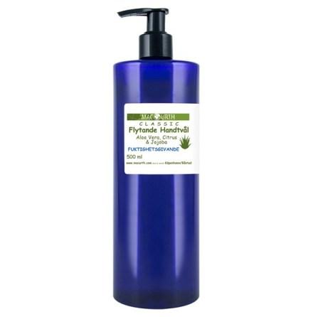 MacUrth Flytande Ekologisk tvål med Aloe Vera, Citrus och Jojoba 500 ml