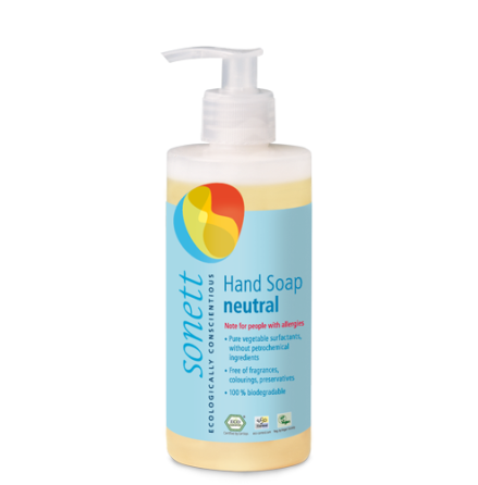Sonett Ekologisk flytande  tvål Sensitiv (parfymfri) 300ml