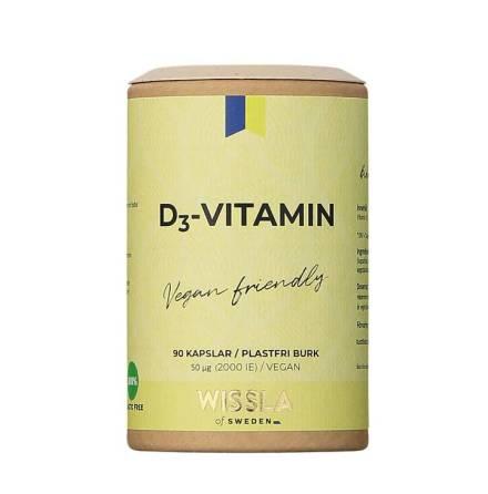 Wissla of Sweden Vegansk D3-Vitamin