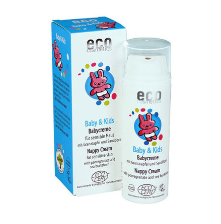 Eco Cosmetics Baby & Kids blöjkräm, 50ml