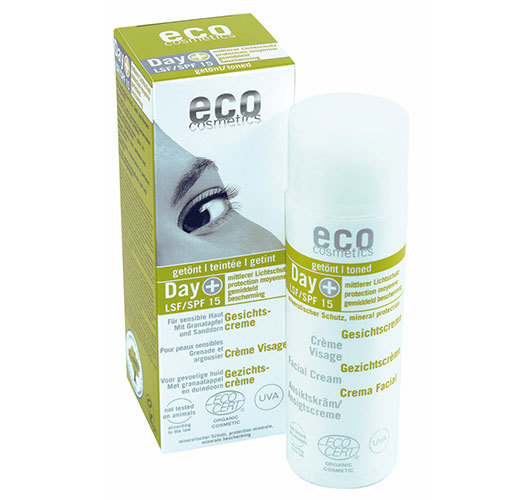 Eco Cosmetics tonad dagkräm SPF15