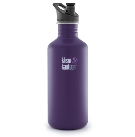 Klean Kanteen classic med sportkork 1182 ml, berry syrup