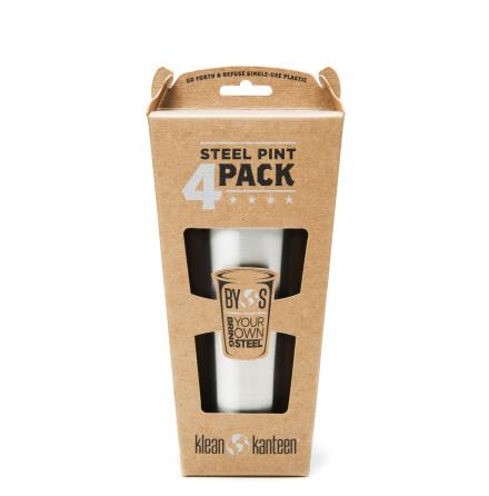 Klean Kanteen muggar 4-pack