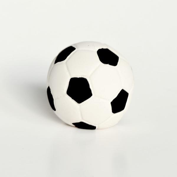 Lanco fotboll i naturgummi, 15 cm